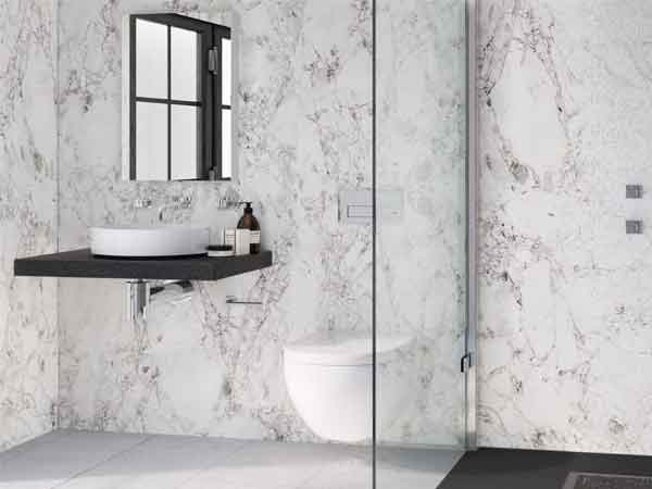 Statuario White Marble Wall Cladding : Wall panels east grinstead bathrooms kitchens